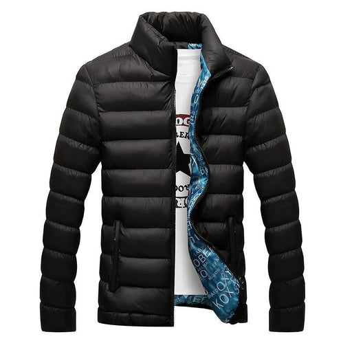 Brand New Mens Jacket Autumn Winter Hot Sale Parka Jacket Men Coats Casual Outwear-Jackets & Coats-LH-Top Fashion-New black-M-EpicWorldStore.com