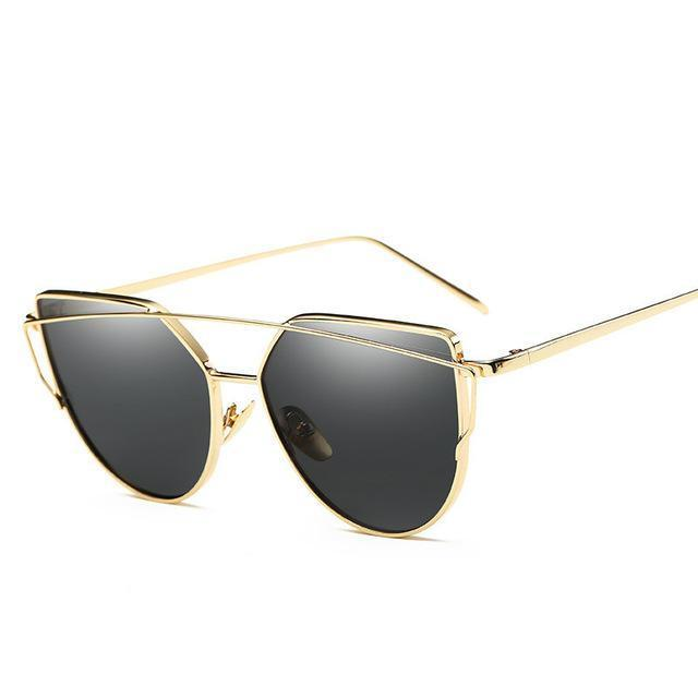 Brand Sunglasses For Women Glasses Cat Eye Sun Glasses Male Mirror Sunglasses Men Glasses-Accessories-Evrfelan Store-B-EpicWorldStore.com
