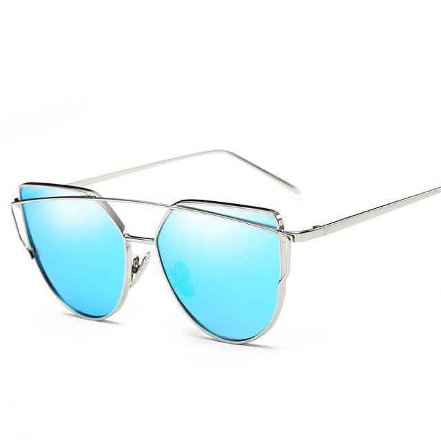 Brand Sunglasses For Women Glasses Cat Eye Sun Glasses Male Mirror Sunglasses Men Glasses-Accessories-Evrfelan Store-F-EpicWorldStore.com