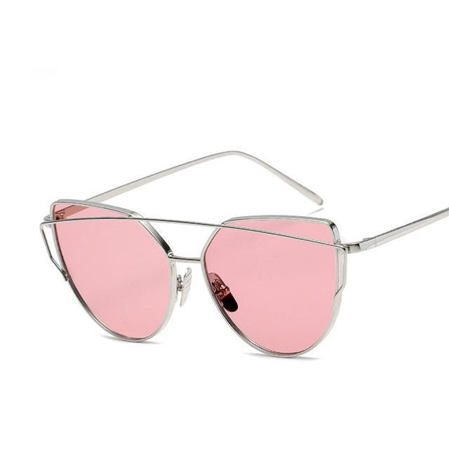 Brand Sunglasses For Women Glasses Cat Eye Sun Glasses Male Mirror Sunglasses Men Glasses-Accessories-Evrfelan Store-I-EpicWorldStore.com