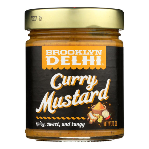 Brooklyn Delhi - Curry Mustard - Case Of 6 - 10 Oz-Eco-Friendly Home & Grocery-Brooklyn Delhi-EpicWorldStore.com