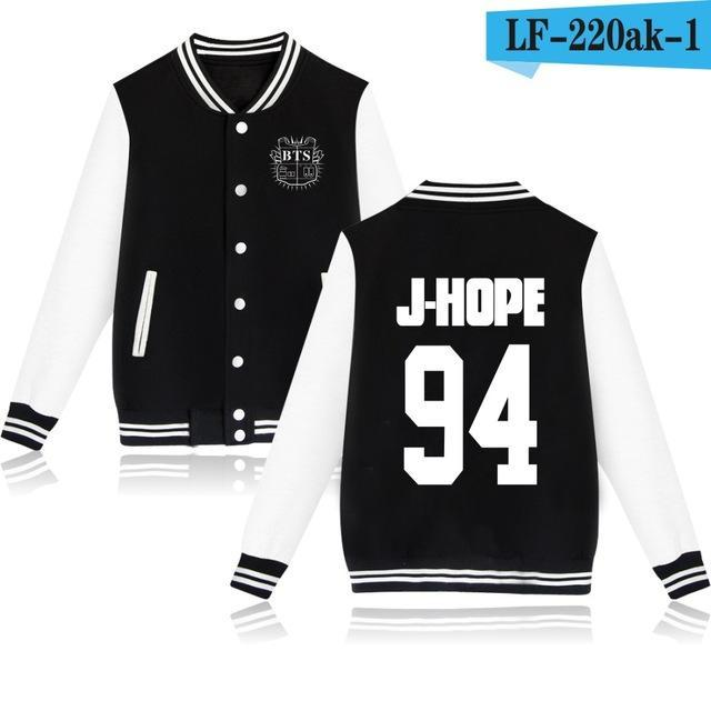 Bts Bangtan Boys Harajuku Hoodies Sweatshirts Women/Men Winter Casual Hoodies Bts Kpop Womens-Hoodies & Sweatshirts-The world's first Store-black 94JH-XXS-EpicWorldStore.com