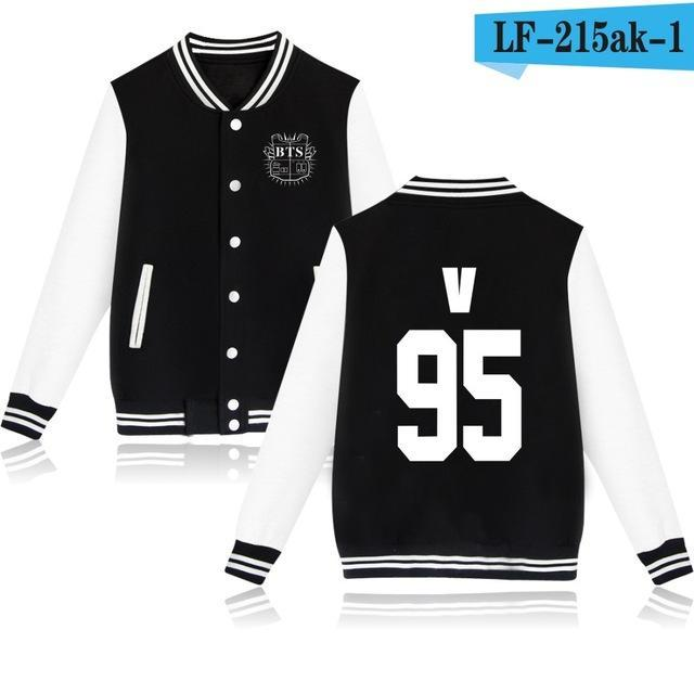 Bts Bangtan Boys Harajuku Hoodies Sweatshirts Women/Men Winter Casual Hoodies Bts Kpop Womens-Hoodies & Sweatshirts-The world's first Store-black 95V-XXS-EpicWorldStore.com