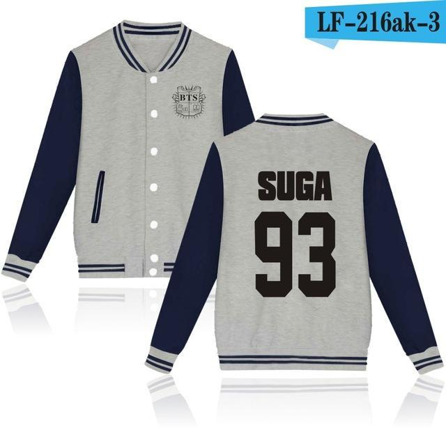 Bts Bangtan Boys Harajuku Hoodies Sweatshirts Women/Men Winter Casual Hoodies Bts Kpop Womens-Hoodies & Sweatshirts-The world's first Store-grey 93-XXS-EpicWorldStore.com