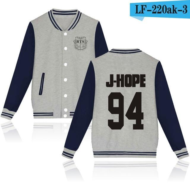 Bts Bangtan Boys Harajuku Hoodies Sweatshirts Women/Men Winter Casual Hoodies Bts Kpop Womens-Hoodies & Sweatshirts-The world's first Store-grey 94JH-XXS-EpicWorldStore.com