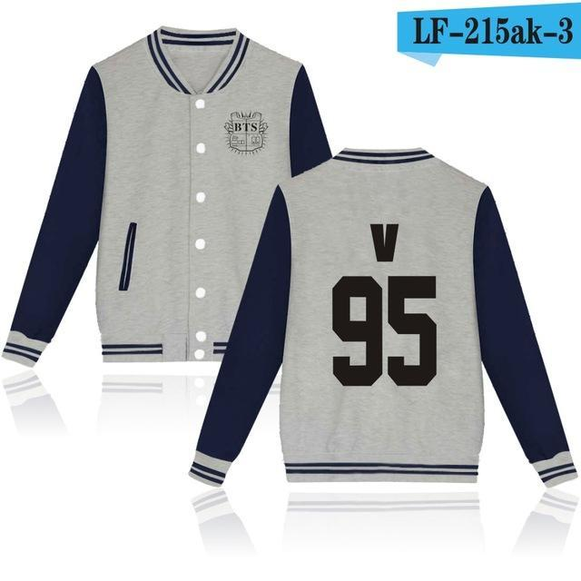 Bts Bangtan Boys Harajuku Hoodies Sweatshirts Women/Men Winter Casual Hoodies Bts Kpop Womens-Hoodies & Sweatshirts-The world's first Store-grey 95V-XXS-EpicWorldStore.com