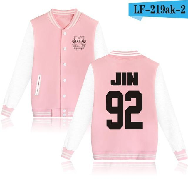 Bts Bangtan Boys Harajuku Hoodies Sweatshirts Women/Men Winter Casual Hoodies Bts Kpop Womens-Hoodies & Sweatshirts-The world's first Store-pink 92-XXS-EpicWorldStore.com