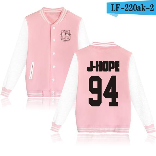 Bts Bangtan Boys Harajuku Hoodies Sweatshirts Women/Men Winter Casual Hoodies Bts Kpop Womens-Hoodies & Sweatshirts-The world's first Store-pink 94JH-XXS-EpicWorldStore.com