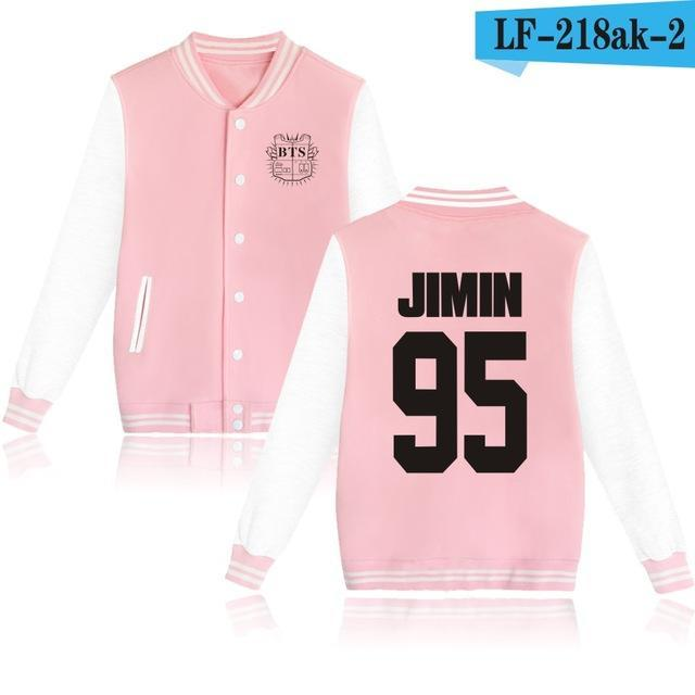 Bts Bangtan Boys Harajuku Hoodies Sweatshirts Women/Men Winter Casual Hoodies Bts Kpop Womens-Hoodies & Sweatshirts-The world's first Store-pink 95JIMIN-XXS-EpicWorldStore.com