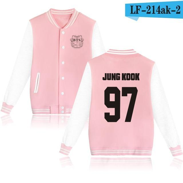 Bts Bangtan Boys Harajuku Hoodies Sweatshirts Women/Men Winter Casual Hoodies Bts Kpop Womens-Hoodies & Sweatshirts-The world's first Store-pink 97JK-XXS-EpicWorldStore.com