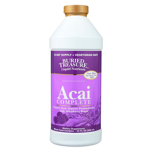 Buried Treasure - Acai Complete - 32 Fl Oz-Eco-Friendly Home & Grocery-Buried Treasure-EpicWorldStore.com