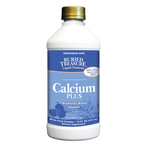 Buried Treasure - Calcium Plus Blueberry - 16 Fl Oz-Eco-Friendly Home & Grocery-Buried Treasure-EpicWorldStore.com