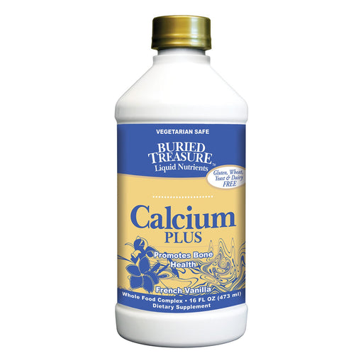 Buried Treasure - Calcium Plus French Vanilla - 16 Fl Oz-Eco-Friendly Home & Grocery-Buried Treasure-EpicWorldStore.com