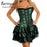 Burvogue Stylish Steampunk Corsets And Bustiers Burlesque Gothic Lace Steampunk Corset Dress Plus-Bustiers & Corsets-Burvogue +-Black-S-EpicWorldStore.com