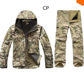 Camouflage Hunting Clothes Shark Skin Soft Shell Lurkers Tad V 4.0 Outdoor Tactical Military-Camping & Hiking-TWILIGHTBEAR Store-1-S-EpicWorldStore.com