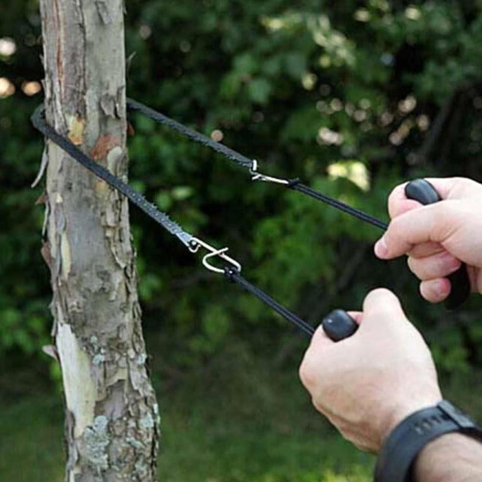 Multifunction Pocket Chain Saw Hand Saw Chain Outdoor Survival Tool Camping