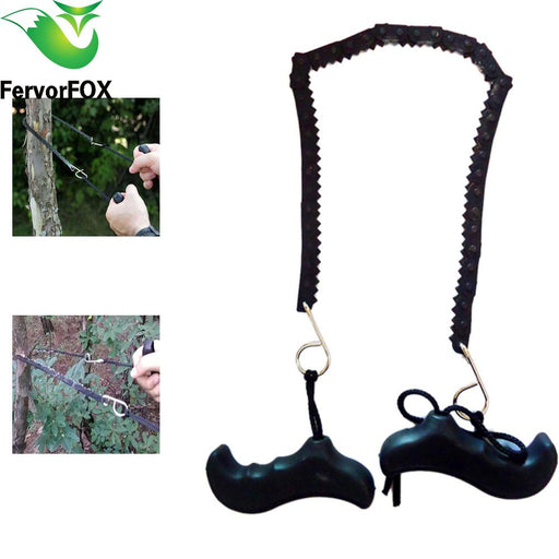 Camping Hiking Emergency Survival Hand Tool Gear Pocket Chain Saw Chainsaw Camping Saws-Camping & Hiking-Extreme outdoors Store-EpicWorldStore.com