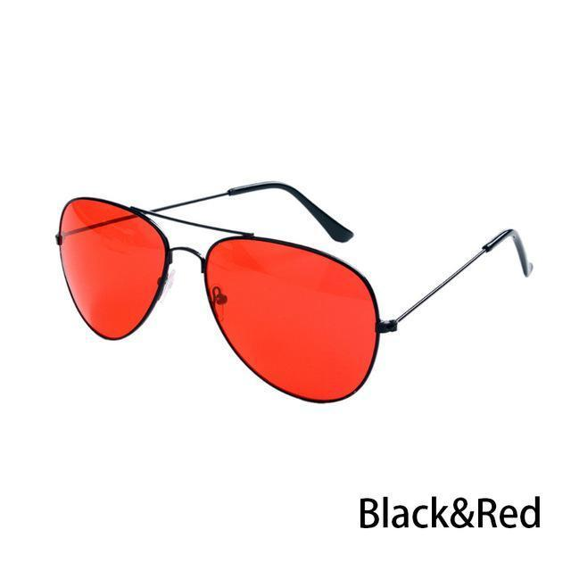 Canchange Polarized Glasses Mens Sunglasses Car Drivers Night Vision Goggles Anti-Glare Sun-Accessories-Voice of dreams Store-Black W Red-EpicWorldStore.com