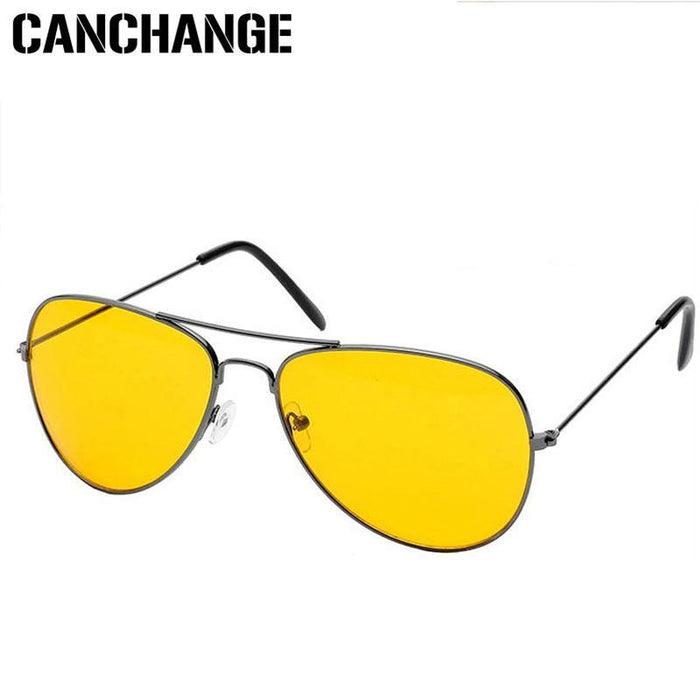 Canchange Polarized Glasses Mens Sunglasses Car Drivers Night Vision Goggles Anti-Glare Sun-Accessories-Voice of dreams Store-black W yellow-EpicWorldStore.com