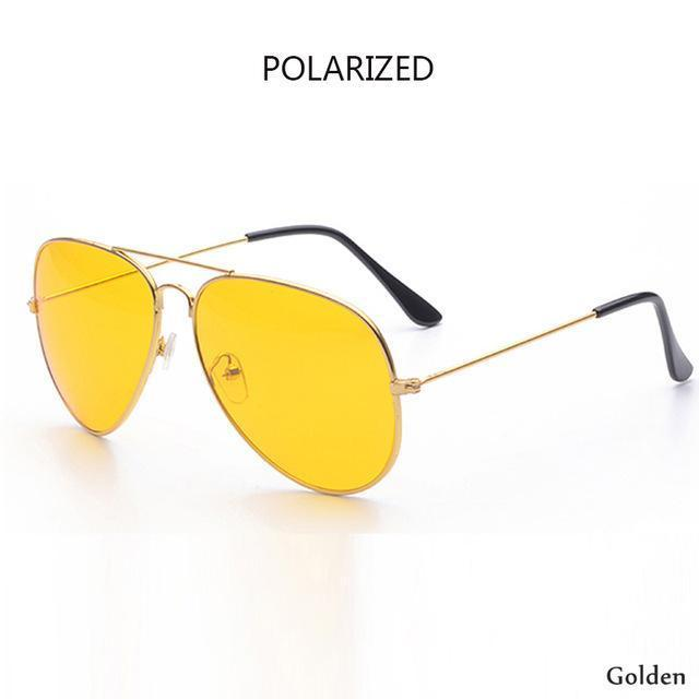 Canchange Polarized Glasses Mens Sunglasses Car Drivers Night Vision Goggles Anti-Glare Sun-Accessories-Voice of dreams Store-golden-EpicWorldStore.com