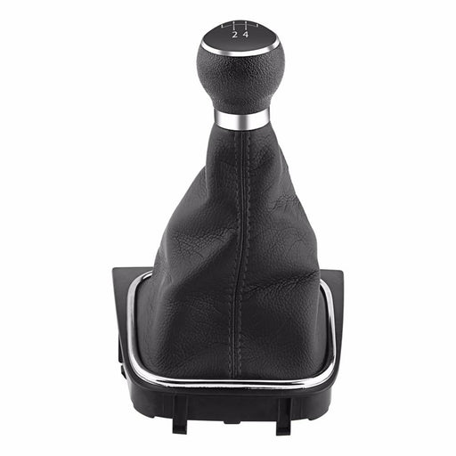 Car 5 Speed Gear Shift Knob Gearstick Gaiter Boot Kit For Vw Golf 6 Mk5 Mk6 Jetta 2005 2006 2007-Gear Shift Knob-Automatic Parts&Tool Store-EpicWorldStore.com