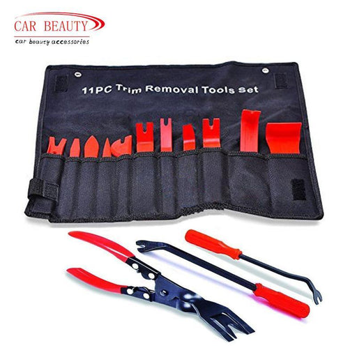 Car Auto Upholstery Tools Strong Nylon Door Molding Dash Panel Trim Tool Kit Clip Pliers Fastener-Interior Accessories-CarBeauty Store-11 pcs tool-EpicWorldStore.com