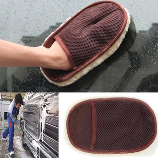 Car Care Cleaning Brushes Polishing Mitt Brush Super Clean Wool Car Wash Glove Car Cleaning-Car Wash & Maintenance-Hot Car&Motorcycle Accessories Store-EpicWorldStore.com