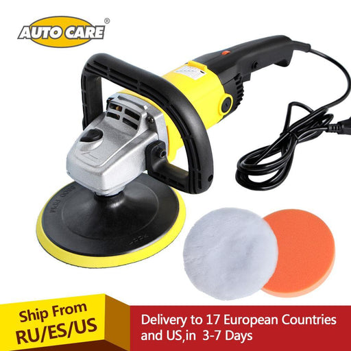 Car Polisher 1200W Variable Speed 3000Rpm 180Mm Car Paint Care Tool Polishing Machine Sander 220V-Car Wash & Maintenance-AUTO CARE Global Store-WPPM08-EpicWorldStore.com