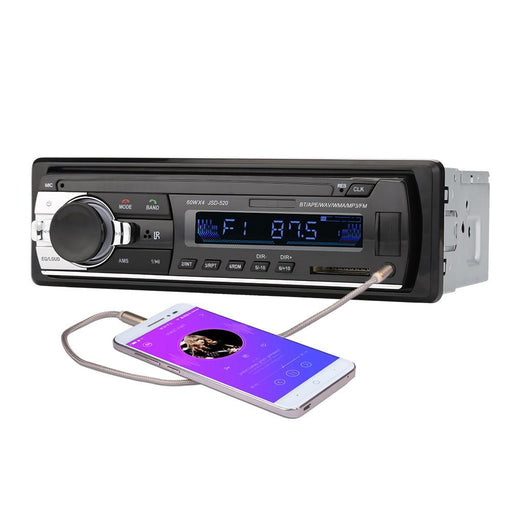 Car Radio Stereo Player Bluetooth Phone Aux-In Mp3 Fm/Usb/1 Din/Remote Control 12V Car Audio Auto-Always Best-EpicWorldStore.com