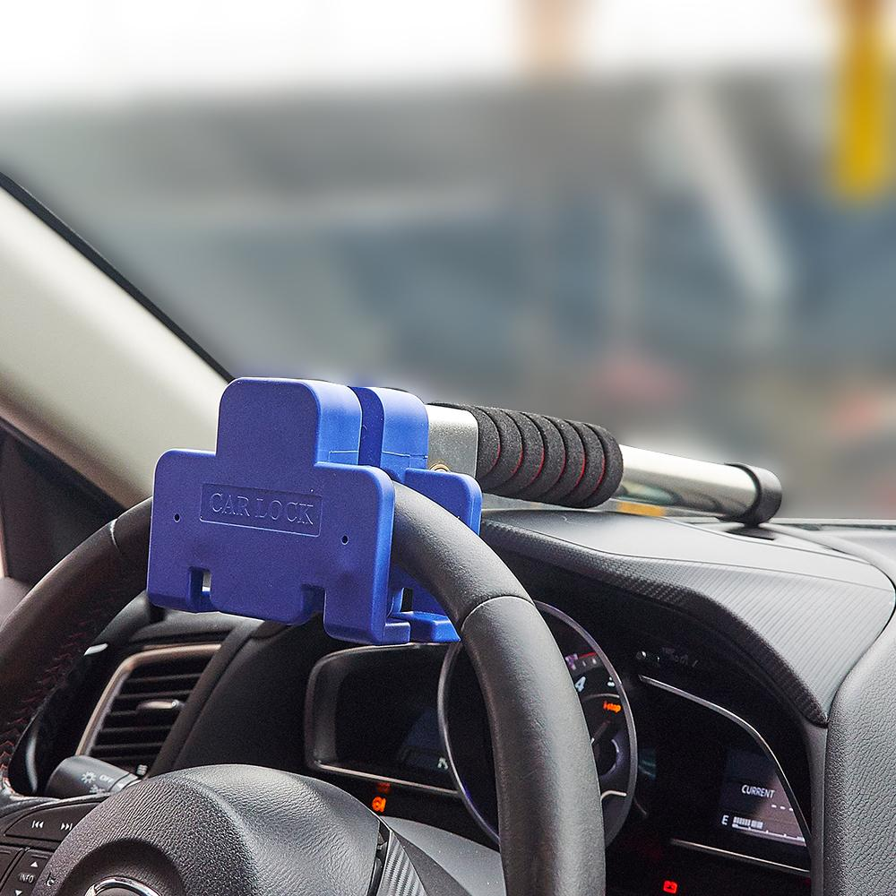 Car Anti Theft >> Car Steering Wheel Lock Vehicle Auto Car Anti Theft Security Lock Size 37 9 12cm