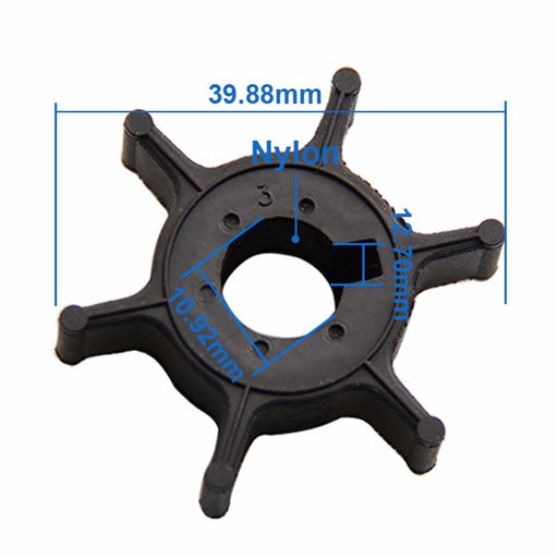 Carbole Boat Engine Impeller For Yamaha 4Hp 5Hp 6Hp Outboard Motor 6E0-44352 6E0-44352-00-00-ATV,RV,Boat & Other Vehicle-Precision & CarBole Store-EpicWorldStore.com