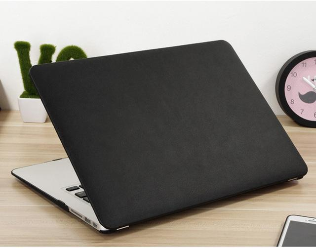 Carry360 Pu Leather Case For Apple Macbook Pro 13 Case Air 13 11 Pro Retina 12 13.3 15 Laptop Bag-Laptop Accessories-ZVRUA Professional Store-Black-For Macbook Air 11-EpicWorldStore.com