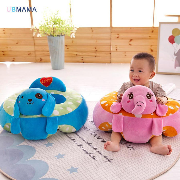 Cartoon Animal Baby Support Seat Sofa Baby Learning To Sit Chair ...