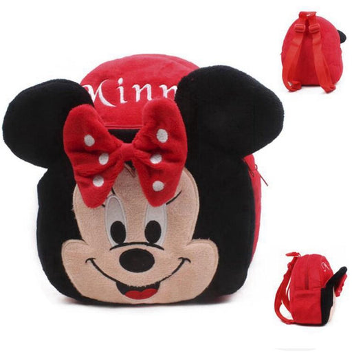 Cartoon School Backpack Cute Minnie Plush Kids Baby Bags For Kindergarten Schoolbag Children-Kids & Baby's Bags-Shop2204025 Store-EpicWorldStore.com