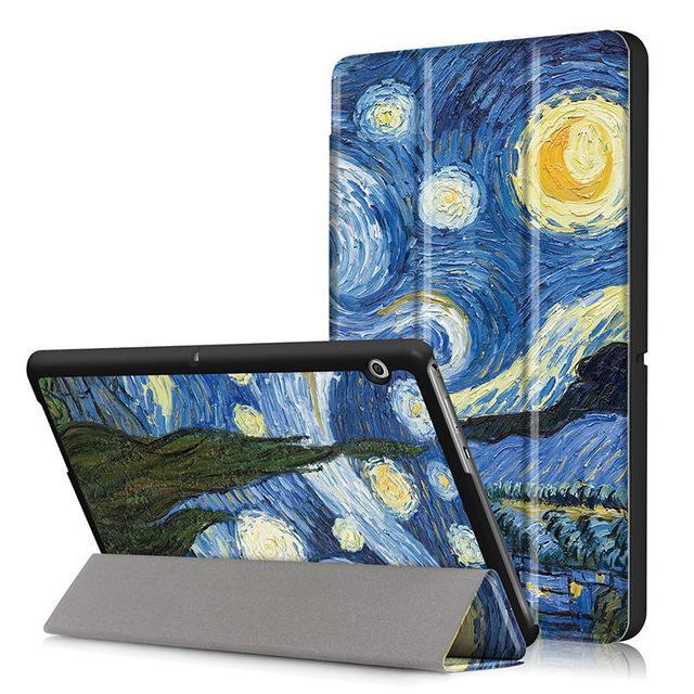 "Case For Huawei Mediapad T3 10 Ags-W09 Ags-L09 Ags-L03 9.6"" Cover Funda Tablet For Honor Play Pad-Tablet Accessories-P Yung Store-D019-EpicWorldStore.com"