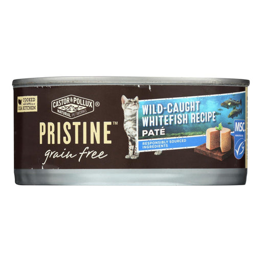 Castor And Pollux - Pristine Grain Free Wet Cat Food - Wild-Caught Whitefish Recipe - Case Of 24 -Eco-Friendly Home & Grocery-Castor And Pollux-EpicWorldStore.com