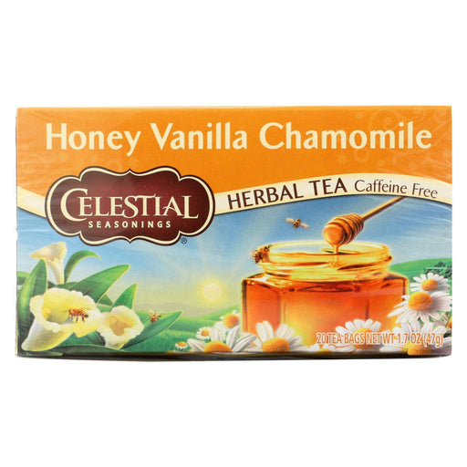 Celestial Seasonings Herbal Tea Caffeine Free Honey Vanilla Chamomile - 20 Tea Bags - Case Of 6-Eco-Friendly Home & Grocery-Celestial Seasonings-EpicWorldStore.com