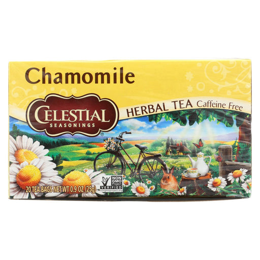 Celestial Seasonings Herbal Tea - Chamomile - Caffeine Free - Case Of 6 - 20 Bags-Eco-Friendly Home & Grocery-Celestial Seasonings-EpicWorldStore.com