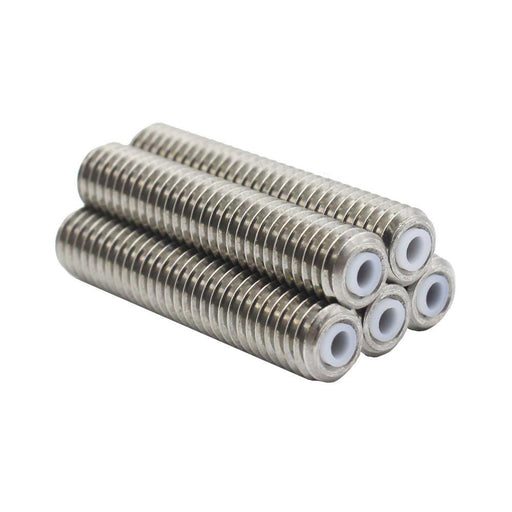 Changta 5Pcs/Lot For Makerbot Mk8 1.75Mm Filament Stainless Steel With Teflon Ptfe Tube M6*30Mm 3D-Office Electronics-CHANGTA 3D Center Store-EpicWorldStore.com