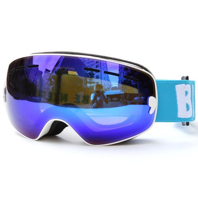 Children Ski Boys Girls Kids Ski Goggles Snowboard Ski Glasses Sunglasses Anti-Fog Wide Spherical Pc-Shooting-copozz Official Store-as picture 2-EpicWorldStore.com