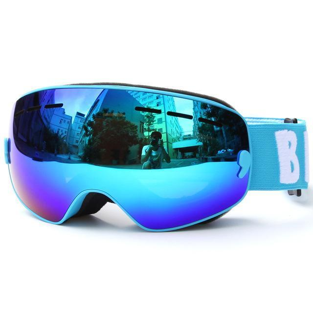 Children Ski Boys Girls Kids Ski Goggles Snowboard Ski Glasses Sunglasses Anti-Fog Wide Spherical Pc-Shooting-copozz Official Store-as picture 3-EpicWorldStore.com