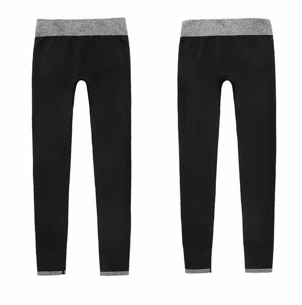 Chrleisure Women Leggings Spandex Slim Elastic Comfortable High Waist Super Stretch Workout Trousers-Bottoms-KA CHRLEISURE Store-black-S-EpicWorldStore.com