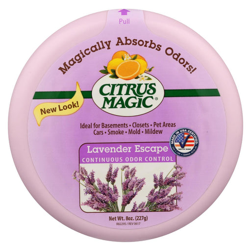 Citrus Magic Odor Absorber - Solid Lavender - Case Of 6 - 8 Oz-Eco-Friendly Home & Grocery-Citrus Magic-EpicWorldStore.com