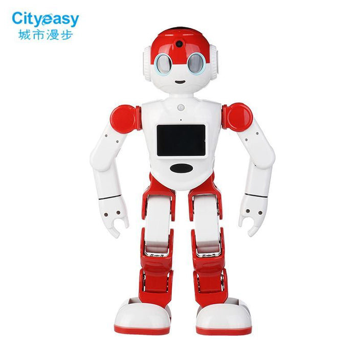 Cityeasy Intelligent Humanoid Robot Voice Control Robot Programming  Software App Control Security