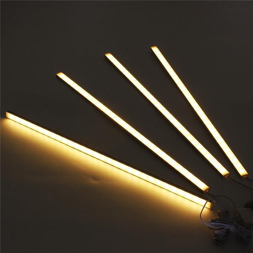 Claite 4Pcs 50Cm 5730Smd 30 Led Under Cabinet Light Kit 1000Lm 10W Led Strip Light For Under Kitchen-Under Cabinet Lights-Shop4039010 Store-Warm White Light-EpicWorldStore.com