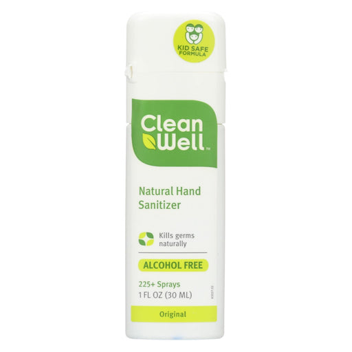 Cleanwell All-Natural Hand Sanitizer Spray Alcohol-Free - 1 Fl Oz - Case Of 24-Eco-Friendly Home & Grocery-Cleanwell-EpicWorldStore.com