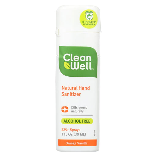 Cleanwell Hand Sanitizer Display - Orange - Case Of 24 - 1 Oz-Eco-Friendly Home & Grocery-Cleanwell-EpicWorldStore.com