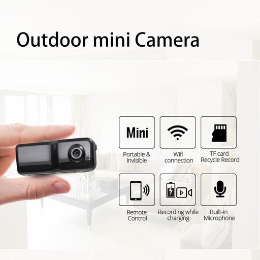Clearance 720P Mini Wearable Sport Camera Outdoor Super Small Portable Video Recorder Wifi Dvr-Security Monitoring Store-Only Camera-EpicWorldStore.com