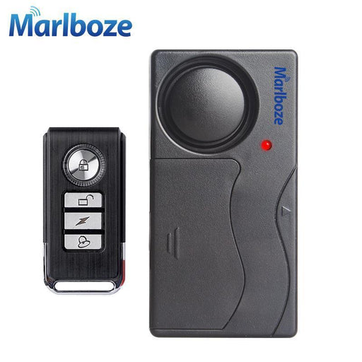 Clearance Black 1 Set Remote Control Bicycle Electromobile Security Vibration Warning Alarm System-Marlboze Official Store-SF04R-EpicWorldStore.com