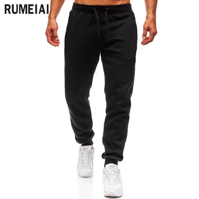Clearance Men Joggers Brand Male Trousers Casual Pants Sweatpants Jogger Grey Casual Elastic-Skinny Pants-Shop3135001 Store-black-XL-EpicWorldStore.com